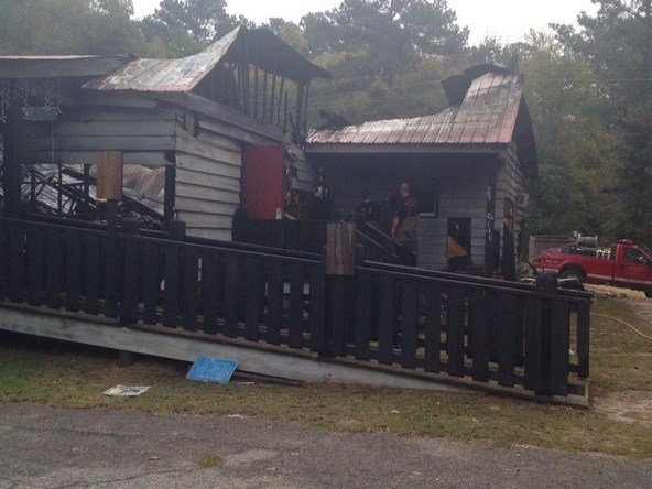 Angie's Steak & Seafood burned early Monday. (Source: WFXG)