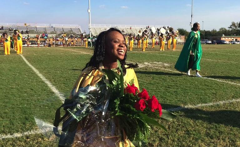 Adejah Nesbitt was named homecoming queen at T.W. Josey High School. (Source: Royal Shepherd / YouTube)
