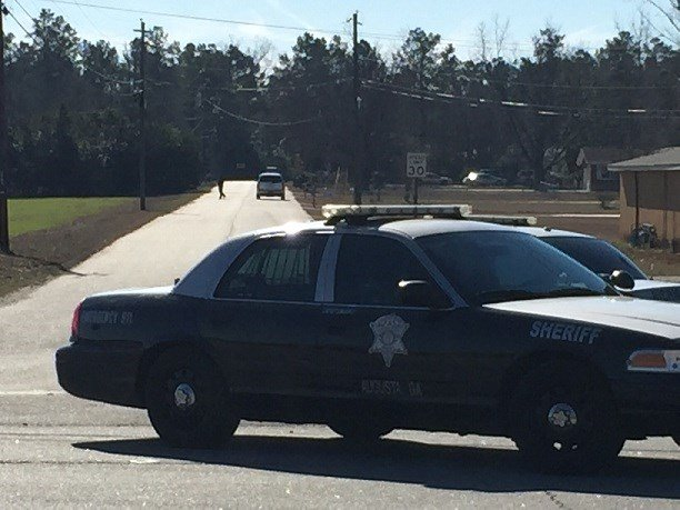 Police say the suspects fled from a vehicle on Wilson Road. (Source: Amber Grigley / WFXG)