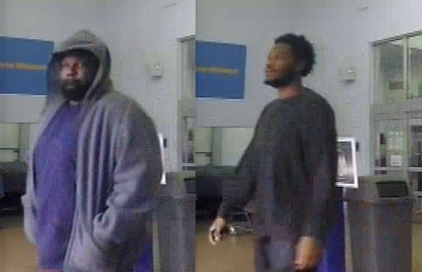 These men are suspects in an attempted kidnapping that happened Thursday afternoon. These photos were taken at the Grovetown Walmart prior to the incident. (Source: Columbia Co. Sheriff's Office)