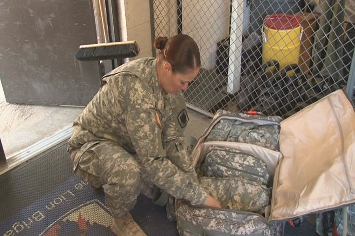 Fort Gordon soldiers prepare to deploy to West Africa with the 35th Signal Brigade. (Source: File photo / WFXG)