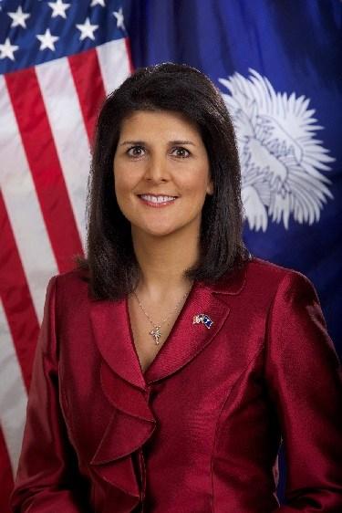 SC Gov. Nikki Haley (Source: Office of Gov. Nikki Haley)