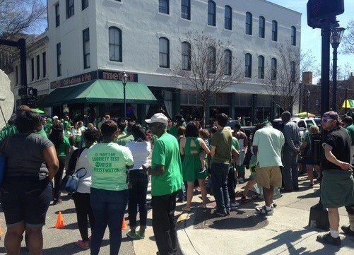Augusta St. Patricks Day parade 2015 (WFXG)