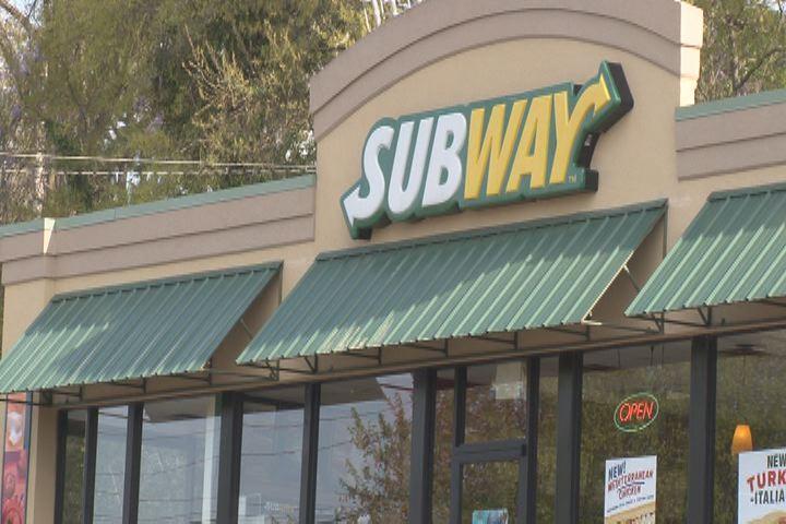 Subway restaurant Source: WFXG