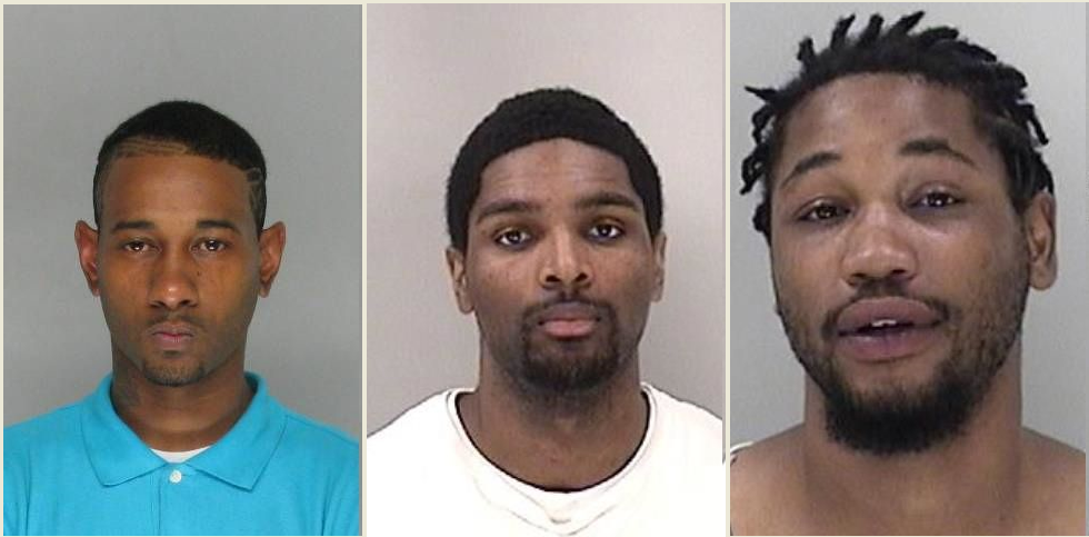 Washington, Carter and Barrett (Source: Richmond Co. Sheriff's Office)