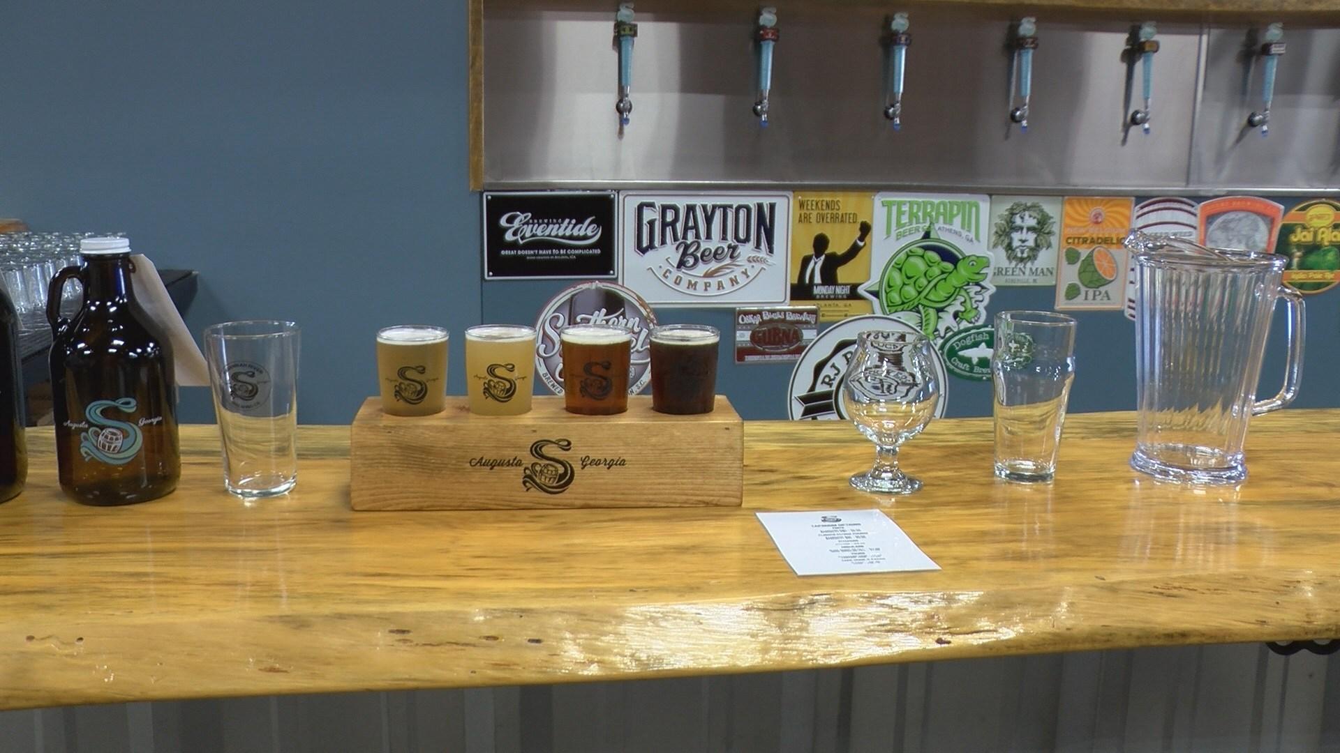 Breweries in Augusta celebrate new Georgia beer law (wfxg)