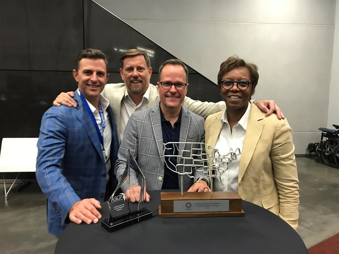 The Georgia Chamber of Commerce wins the 2018 State Chamber of Year (Source: GA Chamber of Commerce)